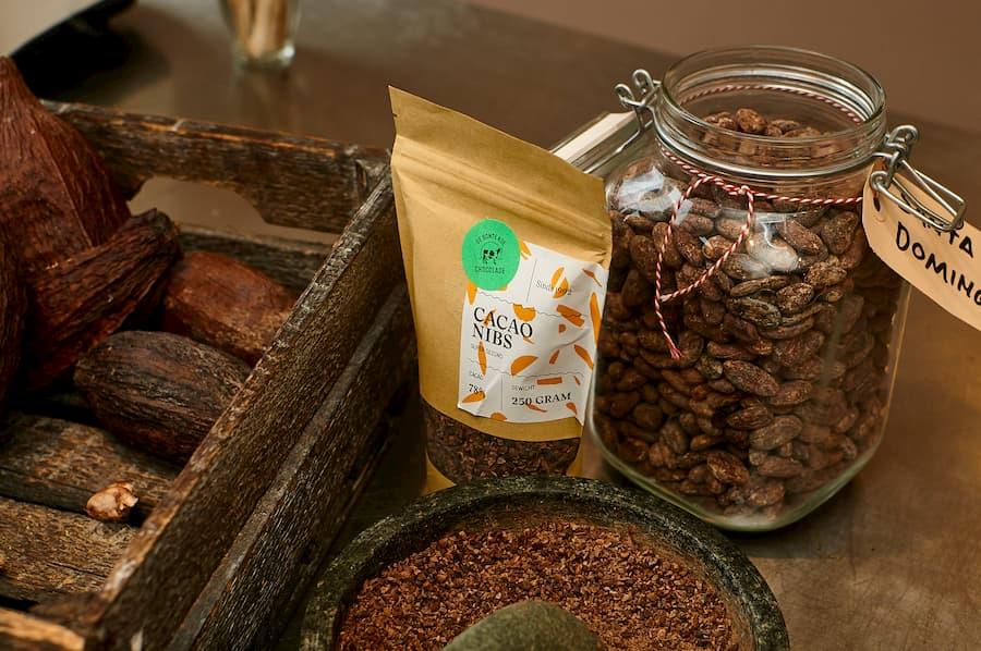 Tour met demo info foto chocolade cacao