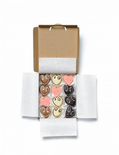 suikerzoete hartjes chocolade debontekoe